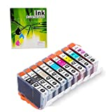 9 Pack CLI42 Pro-100 Ink Cartridges Compatible for Canon Cli-42 Cli 42 Ink 8 Color Work with Pixma Pro-100 Pro-100S Printer, Canon Ink CLI 42 Use in Canon pro100 Canon 100 pro Ink