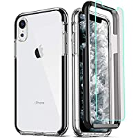Military Grade Protection: 3in1 dual-layer case provides 360 degree full body coverage protection. Premium hybrid hard Polycarbonate (PC) + soft Thermoplastic Polyurethane (TPU/Silicone) + Tempered Glass Screen Protector. Meeting Military Standard MI...