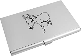 Azeeda 'Friendly Donkey' Business Card Holder / Credit Card Wallet (CH00009846)