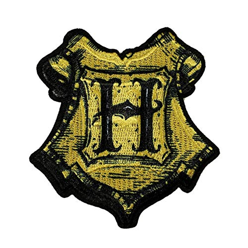 Harry Potter Hogwarts Badge Patch Wizard School Embroidered Iron On Applique