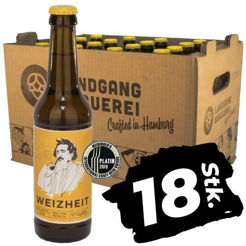Landgang Brauerei - Weizheit - Weizen IPA - 18er Karton (18 x 0,33l) - 5,4%