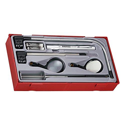 Tengtools tttm08 – schep, bevat telescoop en flexibel, vergrootglas, spiegel-inspectie