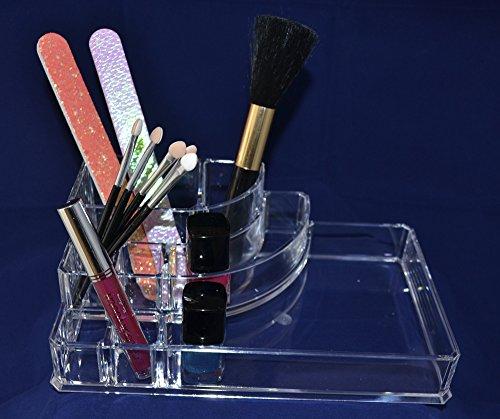 Trousse de maquillage rectangulaire Transparent