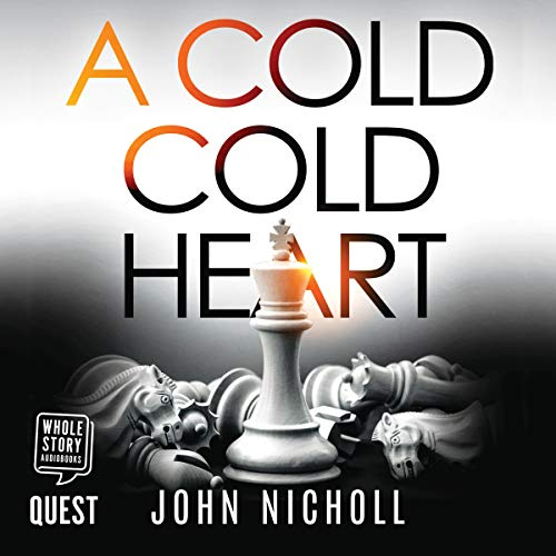 A Cold Cold Heart audiobook cover art