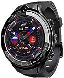 Reloj Inteligente 4G, Rastreador Actividad Física, Rastreador Actividad con Monitor Presión Frecuencia Cardíaca Oxígeno Sangre, Llamada Bluetooth