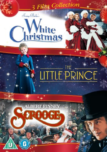White Christmas / The Little Prince / Scrooge Triple Pack [DVD] [2017]