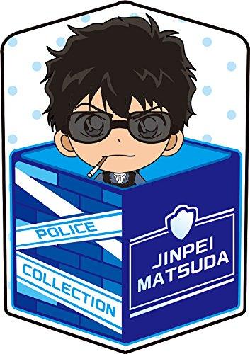 名探偵コナン 松田陣平 キャラ箱クッション Vol.4 警察コレクション ver