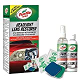 Turtle Wax 51768 Headlight Restorer Car Headlamp Brightness Increase Kit