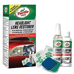 Turtle Wax 51768 Headlight Restorer Aumento del Brillo del Restaurador De Faros del Automóvil