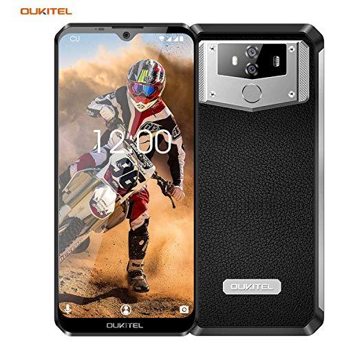 Outdoor Smartphone ohne Vertrag, Oukitel K12 10000mAh 4G Handy, Android 9.0 Dual SIM Smartphone, Octa-core 6GB RAM + 64GB Speicher, 6.3 Zoll FHD+Display, Fingerabdruck und Face ID, NFC Smartphones