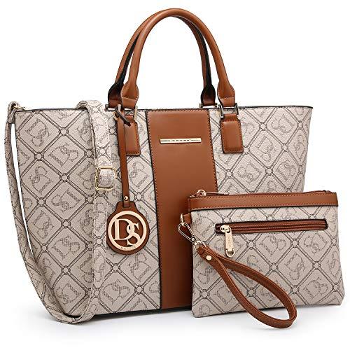 DASEIN Women's Handbags Purses Large Tote Shoulder Bag Top Handle...