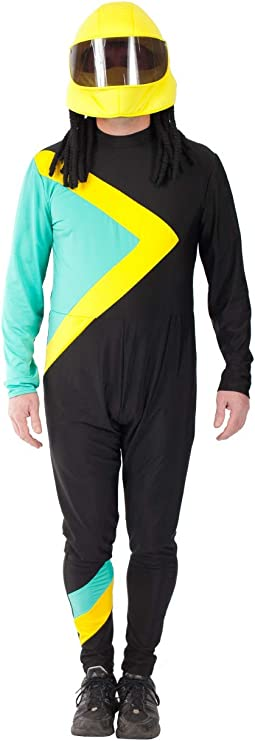 90s Outfits for Guys | Trendy, Party, Cool, Casaul Orion Costumes Mens Bobsleigh Jamaican Vintage Fancy Dress Costume Sport Team  AT vintagedancer.com