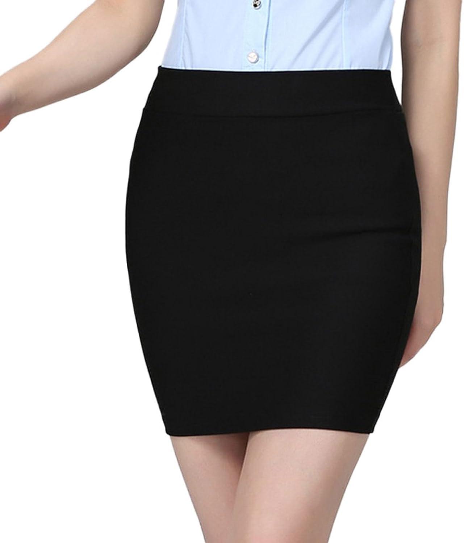 CLJJ7 Women's High Waist Package Hip Short Skirt