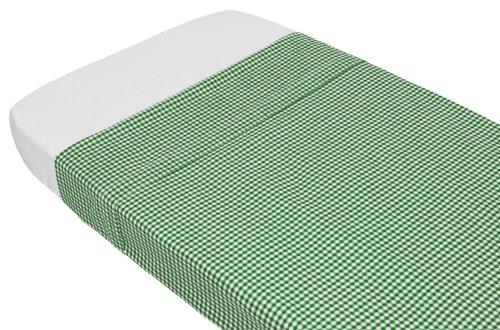 Taftan Drap de Lit Vichy vert (100 x 80 cm) - Vert