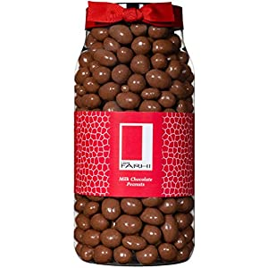 rita farhi milk chocolate covered peanuts in a gift jar, 850 g Rita Farhi Milk Chocolate Covered Peanuts in a Gift Jar, 850 g 51Osl16Ix6L