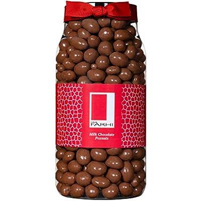 rita farhi milk chocolate covered peanuts in a gift jar, 850 g Rita Farhi Milk Chocolate Covered Peanuts in a Gift Jar, 850 g 51Osl16Ix6L