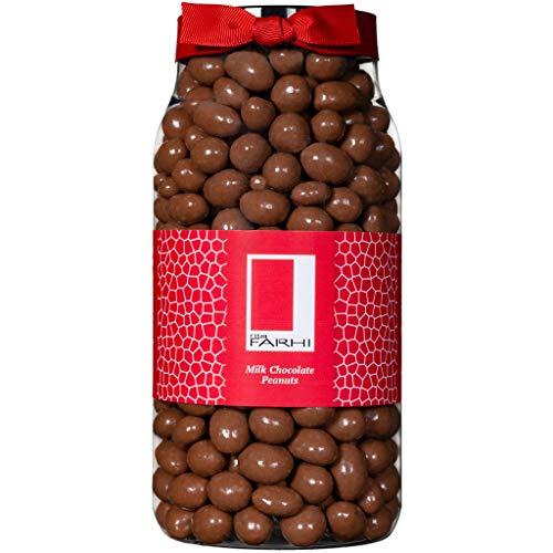 Photo of Rita Farhi Milk Chocolate Covered Peanuts in a Gift Jar, 850 g