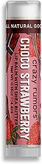 Crazy Rumours Chocolate Strawberry Lip Balm, 5ml