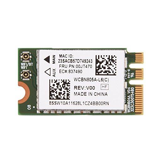 Garsentx Tarjeta WiFi de Doble Banda 2.4G/5G Tarjeta inalámbrica Mini WiFi NGFF/M2 de Doble Banda para Lenovo/DELL/ASUS.