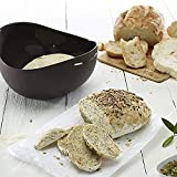 Biowlucn Silicone Bread Maker Loaf Baking Mould,Silicone Bread Baking Pan French-bread, Breadstick and Bread Rolls with Delicious Crispy Crusts