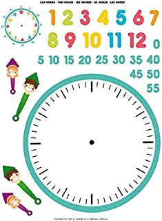 Amazon.es: reloj aprender la hora niños