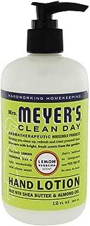 Mrs. Meyer's Clean Day Hand Lotion, Lemon Verbena, 12 Ounce