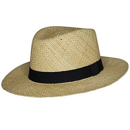 Chapeau-tendance - Chapeau Style Panama Paille - 58 - Homme