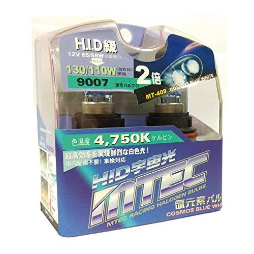 Mtec Kfz–Lampe–Halogen Lampe 900712V 65W 4750K Cosmos blau