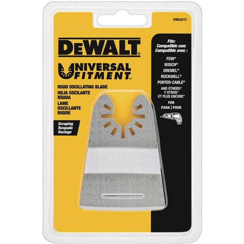 Learn More About DEWALT Oscillating Tool Blade, Rigid Scraper (DWA4217)