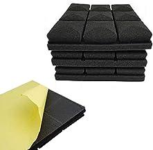 Vacuum Cleaner 12Pcs Mushroom Design Acoustic Foam Adhesive Panels Sound Proof Foam Panels 2X12X12inchfor Sound Insulation...