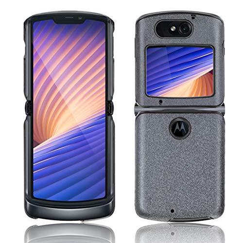 GOGME Hülle für Motorola Razr 5G Handyhülle, Schlanke Leichte Weiche Silikon Stoßfeste Schutzhülle, Grau
