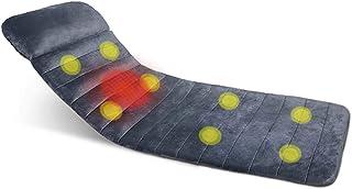 ZFAME Masajeador Corporal Completo Multifuncional masajeador de vibración Cervical, 8 vibración Motores, 8 moldes, de Tres etapas cojín de Masaje Ajustable