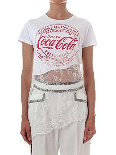 Pinko Camicetta Coca-Cola Basilico - 1N11X7 Y4FH / Basilico T-Shirt - Size 38 (EU) - (IT) 42
