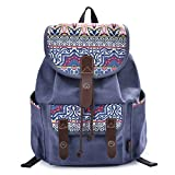 Best Backpacks For Middle Schoolers - DGY Fabric Backpack School Rucksack Cute Canvas Backpack Review
