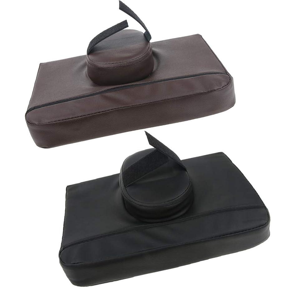 バング世界に死んだアライメントKESOTO 2個 マッサージ枕 マッサージピロー スクエア マッサージテーブル用 通気性 快適 プレゼント