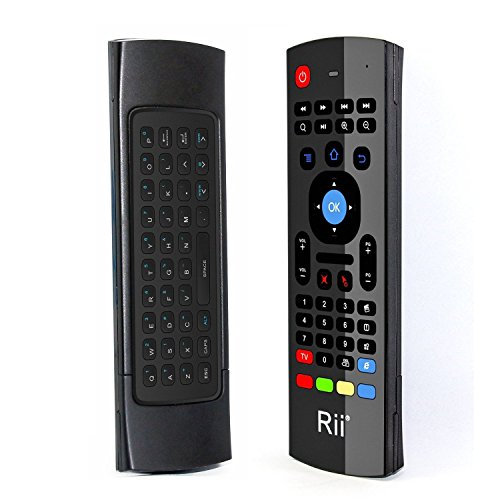 Rii MX3 Multifunction 2.4G Fly Mouse Mini Wireless Keyboard & Infrared Remote Control & 3-Gyro + 3-Gsensor for Google Android TV/Box, IPTV, HTPC, Windows, MAC OS, PS3