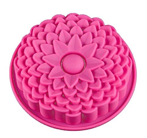 Vincenza gâteau en silicone Muffin Pudding Fleur Rose cuisson Moule Pan Tin 24*19.*6.5 cm UK