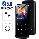 Mp3 Player, Bluetooth 5.0Mp3 Player, FM Radio, 8GB Mp3 Player, Walking Step-by-Step Portable