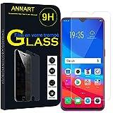 ANNART [1 pieza Protector de pantalla de cristal templado para Oppo F9/F9 Pro 6.3' CPH1823/CPH1828/CPH1881 – Transparente
