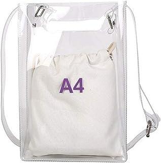 Fanspack Women Messenger Bag,Fashion Crossbody Shoulder Bag with Inner Drawstring Purse