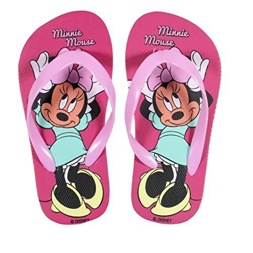 Tongs Minnie Disney, Enfant Minnie (30/31, Rose Clair)