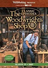Roy Underhill: The Woodwright's Shop : Classic Episodes, Season 25 (Hardcover); 2014 Edition