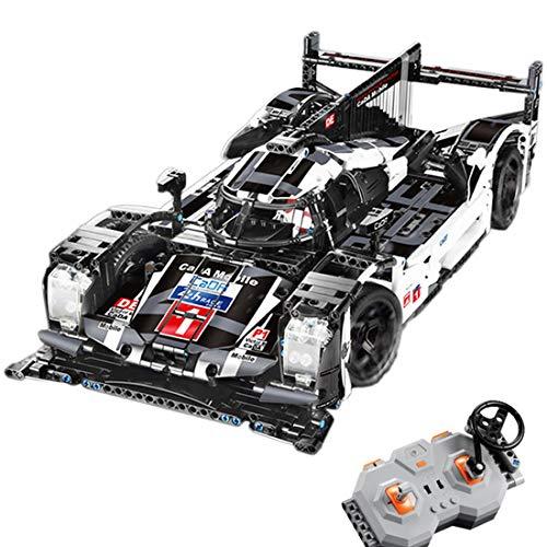 Onenineten Technic Voiture Blocs de Construction, CADA C61016W, 2.4Ghz RC Voiture de Course Télécommande avec Moteur, 1586 Pièces Jeu de Construction Compatible avec Lego Technic