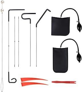 Venhoo Car Tool Kits with Air Pump Bag, Non Marring Wedge, Professional Emergency Automotive Tools for Cars Trucks 11 Pcs