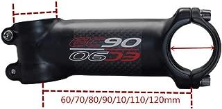 ETbotu Attacco Manubrio Negativo Angolo di 17 Gradi Attacchi Manubrio MTB Parti Attacco Manubrio 90mm ad Alta Resistenza per XC AM MTB Mountain Road Bike