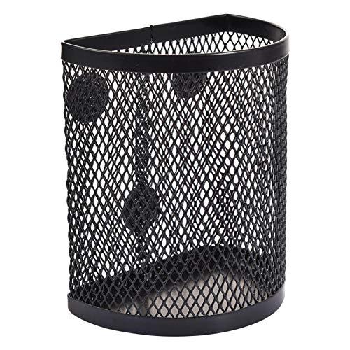 Luoji Magnetic Pencil Holder, Mesh Pen Holder, Semicircular Magnetic Pen Holder For Whiteboard/Refrigerator/Storage Magnetic Basket/Locker Organizer