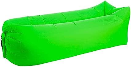 Fast Inflatable Sofa Lazy Sleeping Bag 240 * 70cm Camping Portable Air Banana Sofa Beach Bed Air Hammock