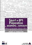 Sport et EPS - Elaborer une argumentation cohérente et efficace