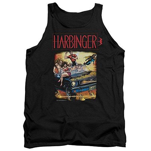Harbinger - - Débardeur vintage pour hommes, XX-Large, Black