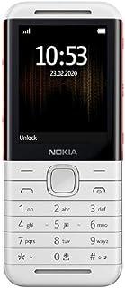 Nokia 5310 2.4 Inch 8 MB UK SIM-Free 2G Feature Phone (Dual Sim) - White/Red